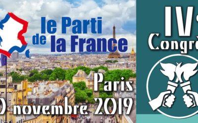 IVe Congrès du Parti de la France