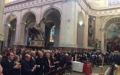 Obsèques de Roger Holeindre, Président d'honneur du Parti de la France