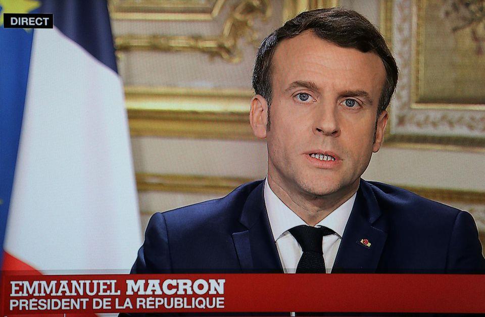 Intervention de Macron sur le coronavirus : la politique du carton-pâte.
