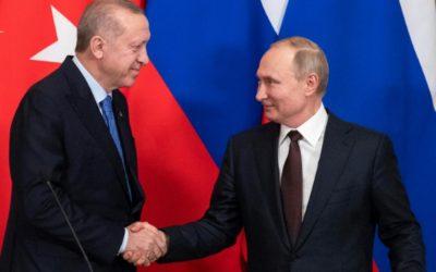 Accord Poutine/Erdogan sur la Syrie : l'Europe fantôme.