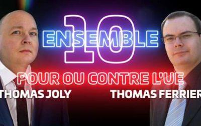 Thomas Joly ce jeudi soir sur la chaîne de Daniel Conversano à 21h30