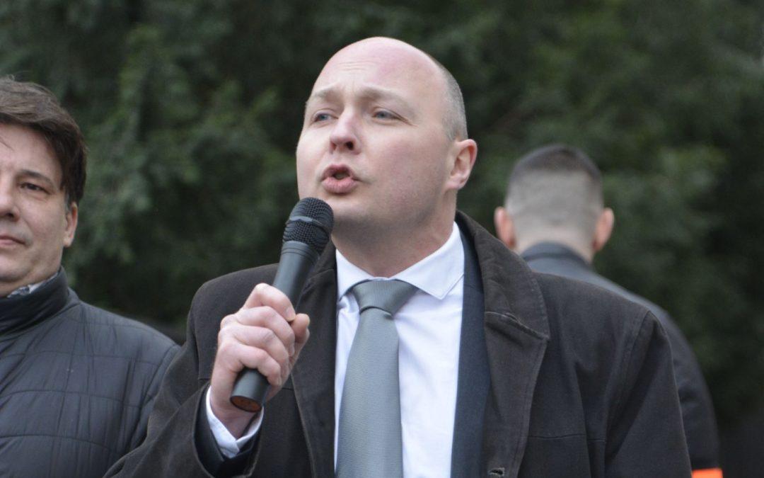 Thomas Joly en soutien du peuple grec.