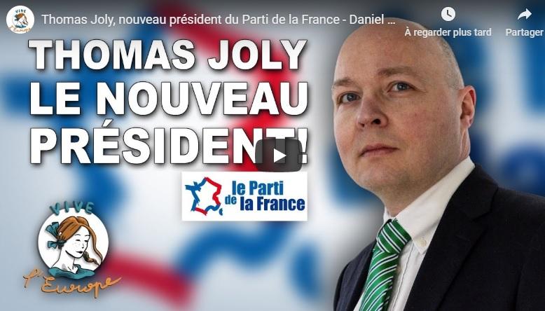 Thomas Joly invité de «Vive l'Europe».