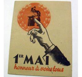 1er mai, fête du travail et de la concorde sociale.