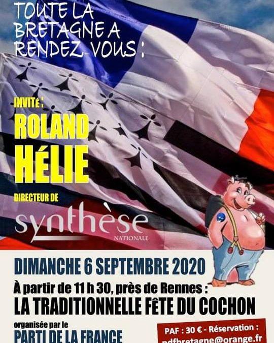 Fête du PdF Bretagne.