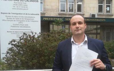 Bruno Hirout, Secrétaire général du PdF candidat aux Sénatoriales.