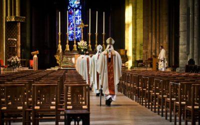 Messes interdites: merci Castex.