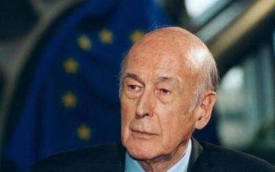 Réaction de Thomas Joly Président du PdF à la mort de Valéry Giscard d'Estaing.