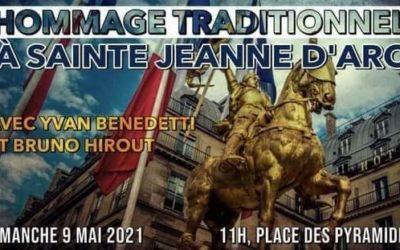 Dimanche 9 mai, hommage à Jeanne d'Arc