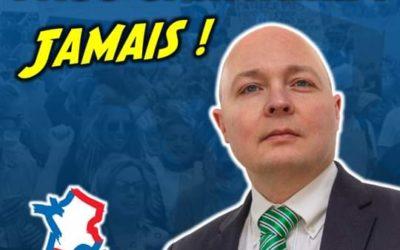 Mobilisation contre le passe sanitaire : un communiqué de Thomas Joly.