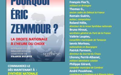 Pourquoi Éric Zemmour ?