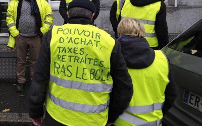 Gilets jaunes : contrer l'influence gauchiste et la CGT.
