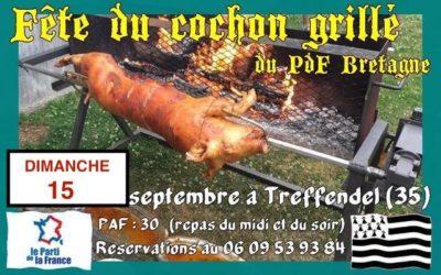La 4ème Fête Champêtre du PARTI DE LA FRANCE en BRETAGNE