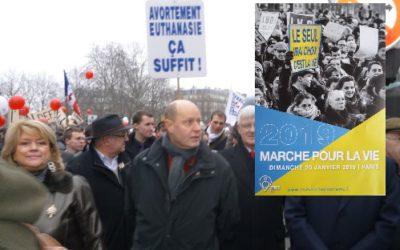 Le Parti de la France à la Marche pour la Vie dimanche 20 janvier !