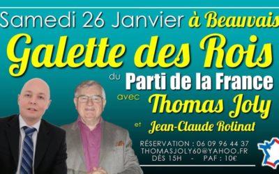 Thomas Joly et Jean-Claude Rolinat à Beauvais