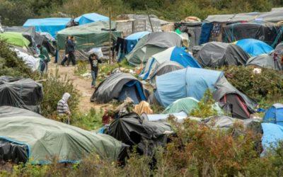 Une nouvelle « jungle » s'installe à Calais