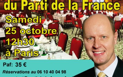 Banquet d'Automne du Parti de la France