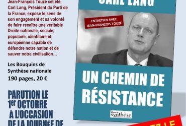 CARL LANG : UN CHEMIN DE RÉSISTANCE