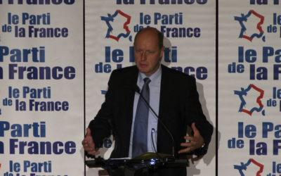 Le Bureau Politique et le Conseil National du Parti de la France