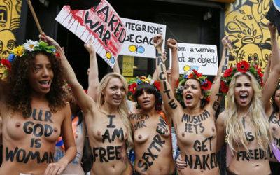 Les Femen institutionnellement encouragées !