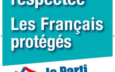 Deux affiches du Parti de la France