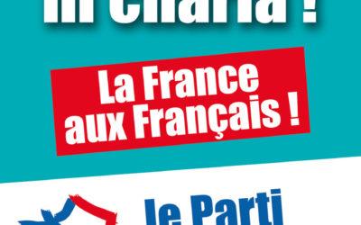Le Parti de la France se mobilise pour le rassemblement du 7 septembre à Calais !