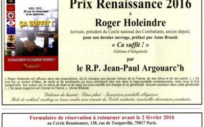 Libre journal du Parti de la France – 7 avril 2014